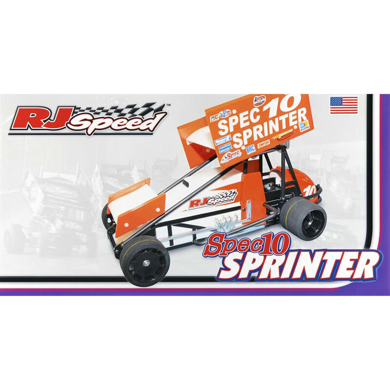 1/10 Electric Spec10 Sprinter 2WD Sprint Car Kit