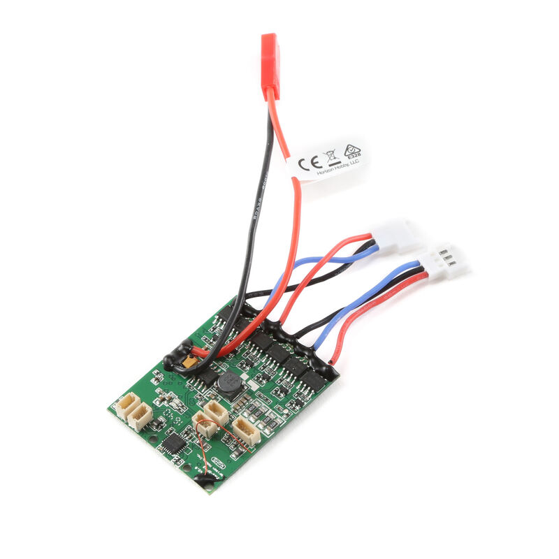 AS6410NBLT DSMX 4-Channel AS3X Receiver with Twin Brushless ESC