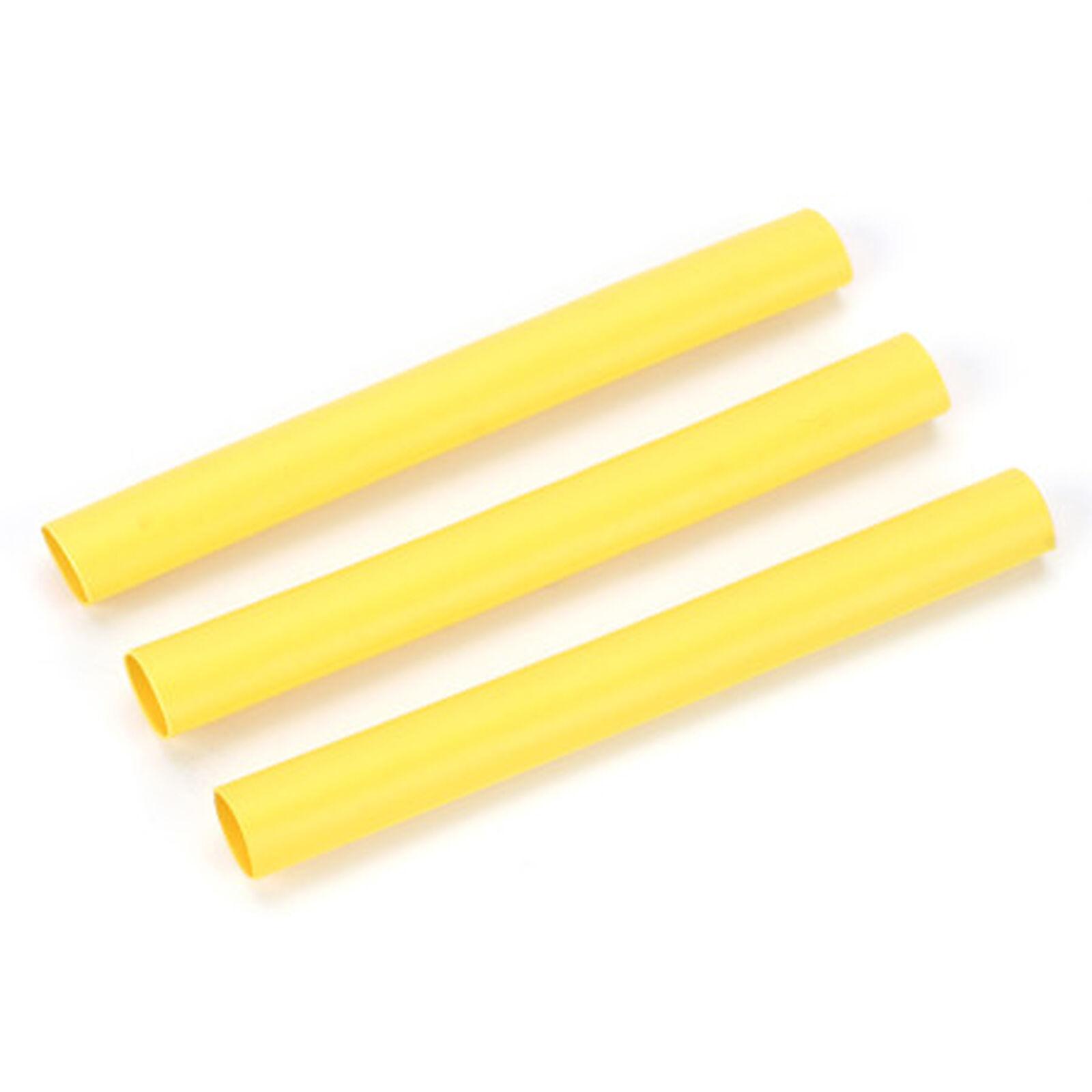 "Heat Shrinkwrap, 1/4"", Yellow"