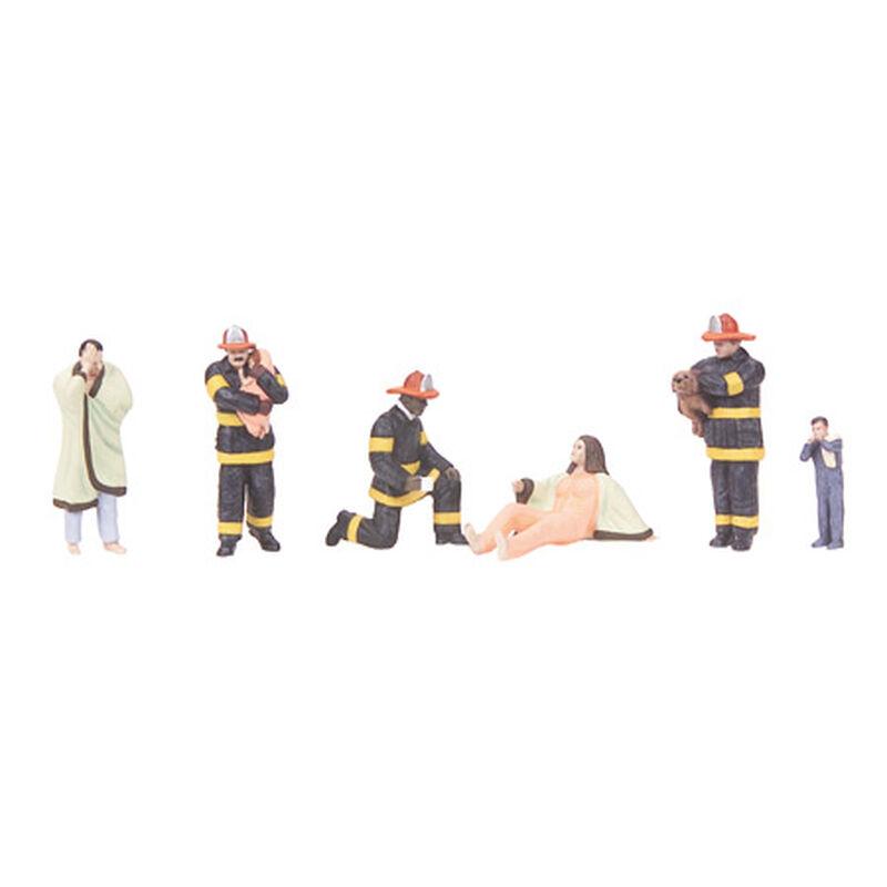 O Fire Scene Figures #8 (6)