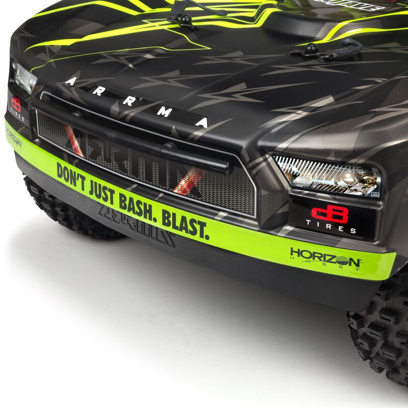 1/7 MOJAVE 6S V2 4WD BLX Desert Truck with Spektrum Firma RTR, Green/Black