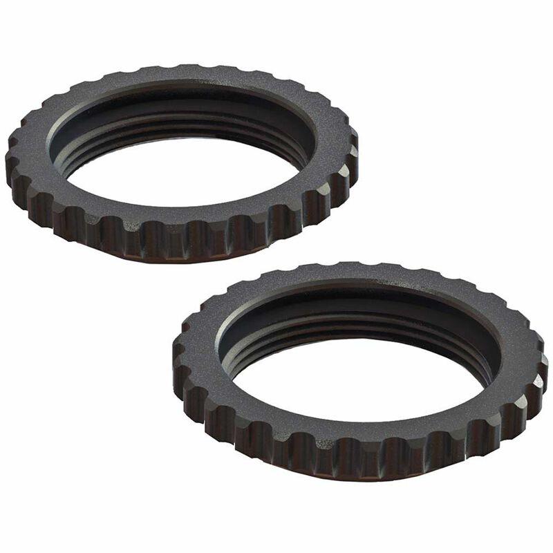 Shock Collar Aluminum, Black (2): 6S