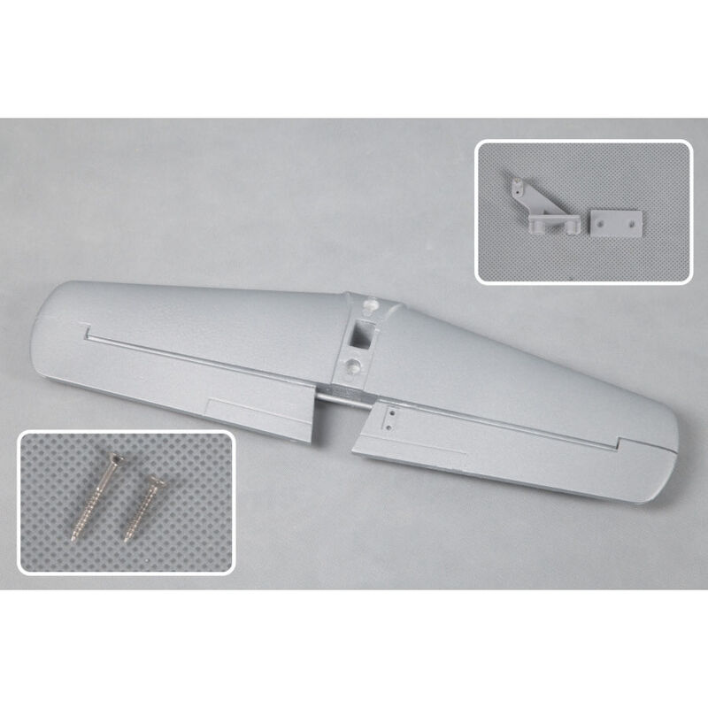 Horizontal Stabilizer: T28 V4, Silver