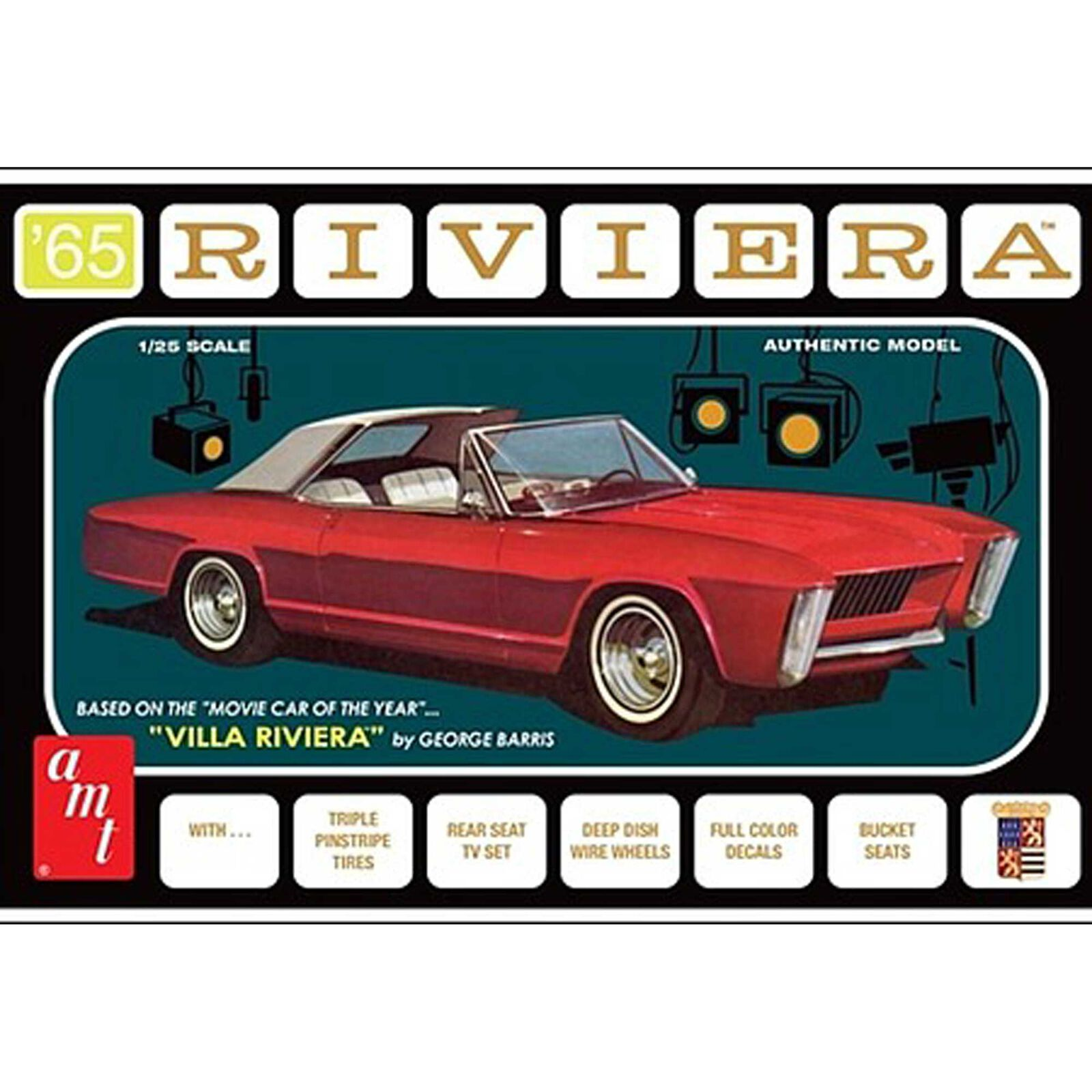 1/25 1965 Buick Riveria George Barris, Model Kit