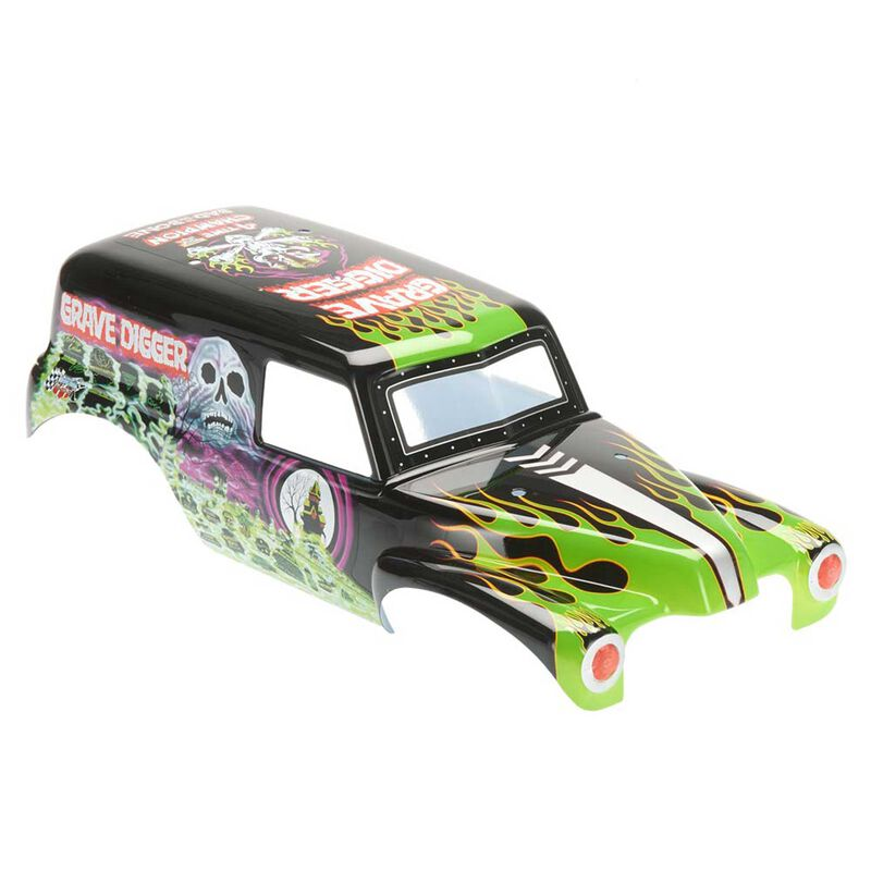 Grave Digger Monster Truck Printed Body