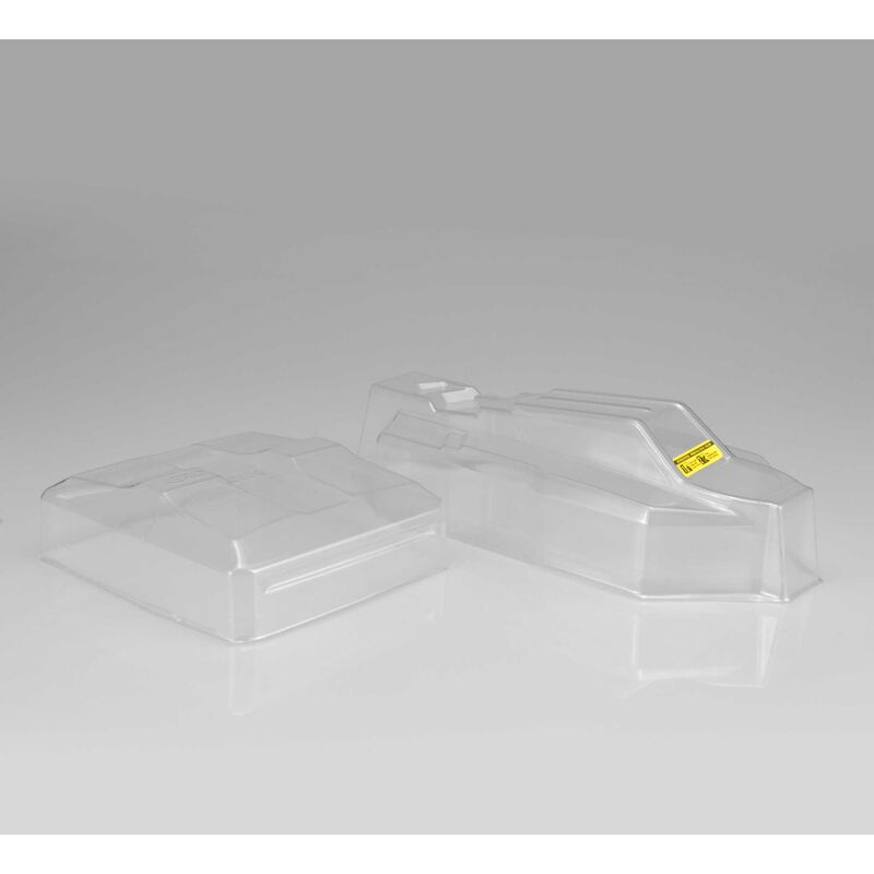 1/10 F2 Clear Body with Aero Wing: B64, B64D