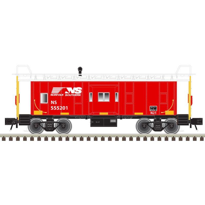 O Trainman Bay Window Caboose NS (2R)