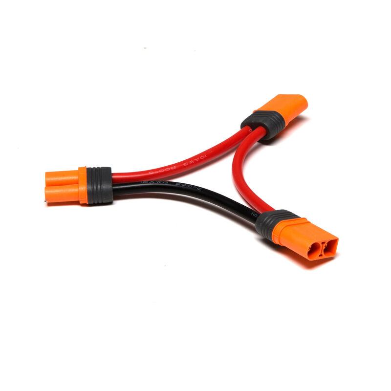 "Series Harness: IC5 Battery with 4"" Wires, 10 AWG"