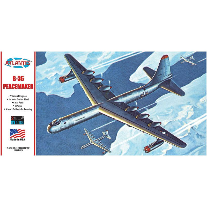 B-36 Peacemaker with Swivel Stand, 1/184