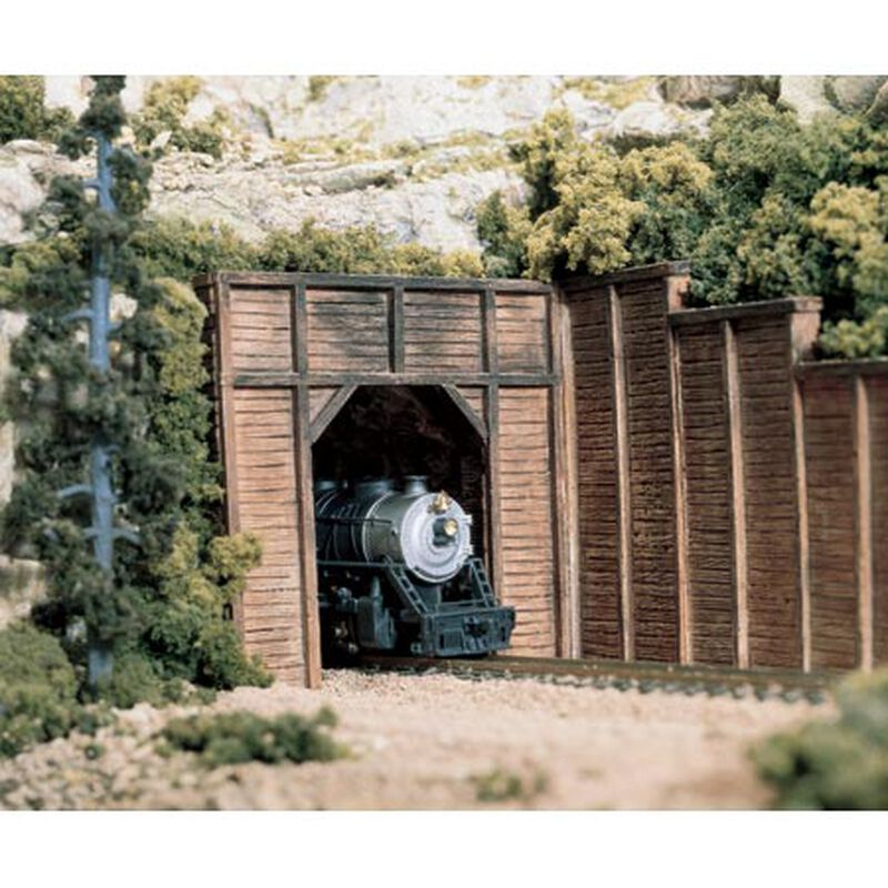 N Single Tunnel Portal, Timber (2)