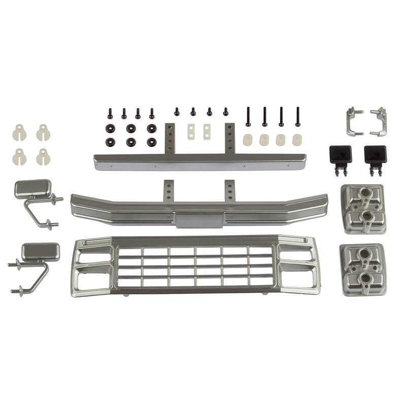 Ford F150 Grill & Accessories Set, Satin Chrome: CR12