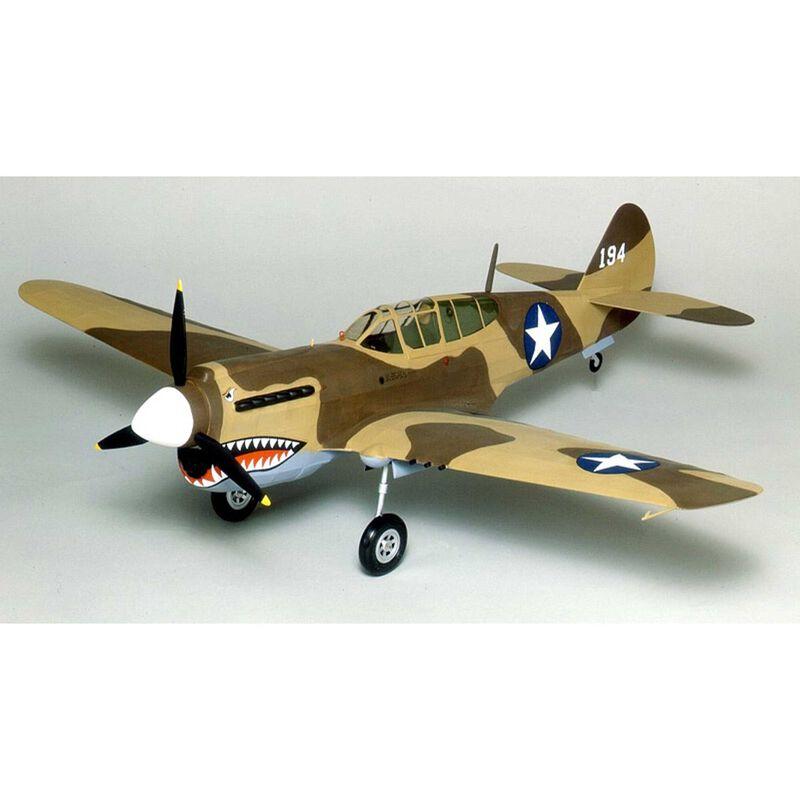 "Curtiss P-40 Warhawk Laser Cut, 28"""