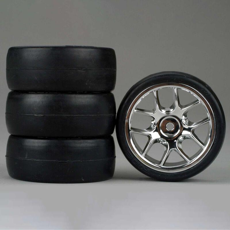 10-Spoke Chrome Wheel, Slick (4)