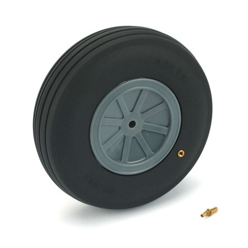 "Treaded Wheel, 4-1/2"", Large Scale (1)"