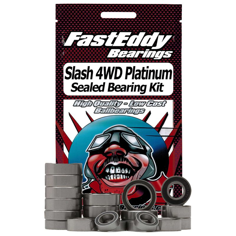 Sealed Bearing Kit: Traxxas Slash 4WD Platinum