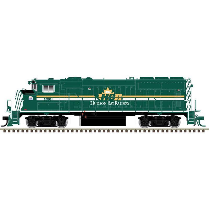HO GP40-2W Hudson Bay Railway #4200