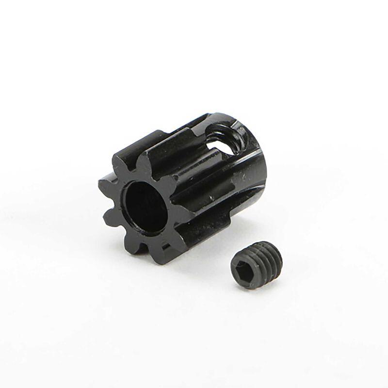 M1.0, Pinion Gear, 5mm Shaft, 9T: TRMT10E