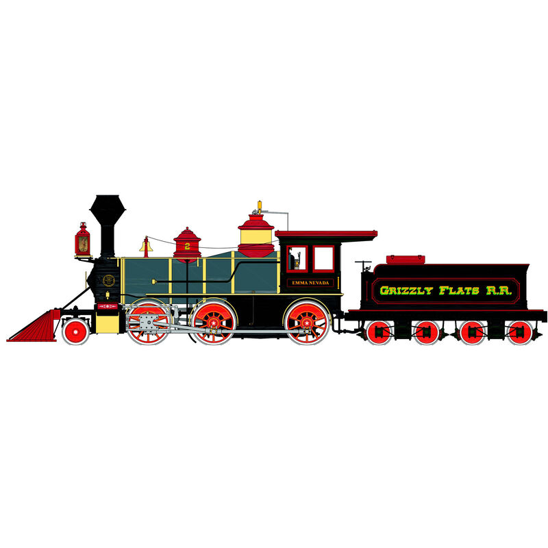 1/20.3 Spectrum 2-6-0 Grizzly Flats