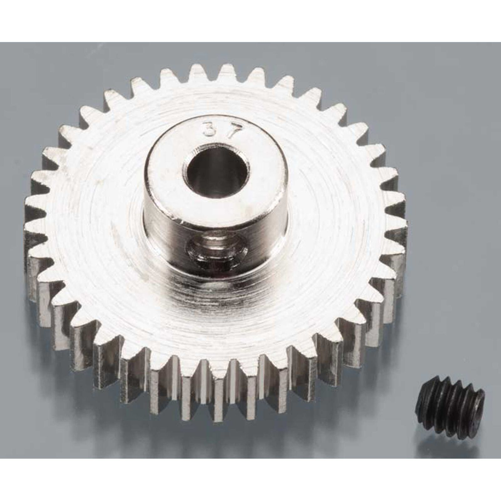 Nickel-Plated 48 Pitch Pinion Gear, 37T