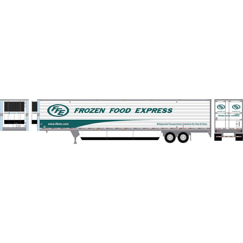 HO RTR 53' Utility Reefer Trailer Frozen Food Exp #766857