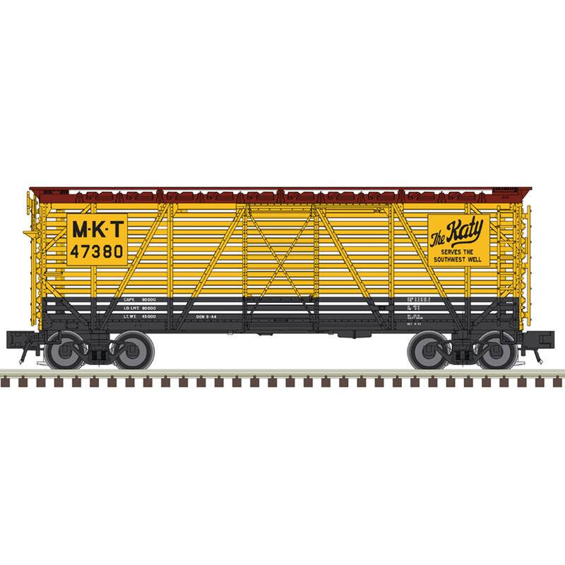 O Trainman 40' Stock Car MKT