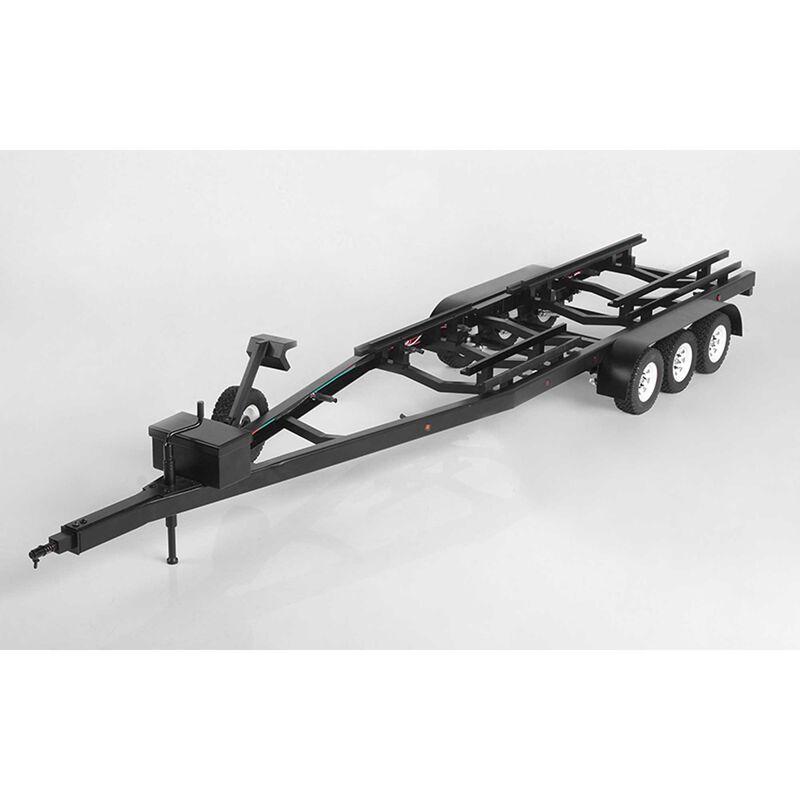 BigDog 1/10 Tri Axle Widebody Scale Boat Trailer
