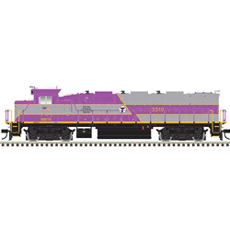 HO Trainman NRE Genset II w DCC & Sound MBTA #3249