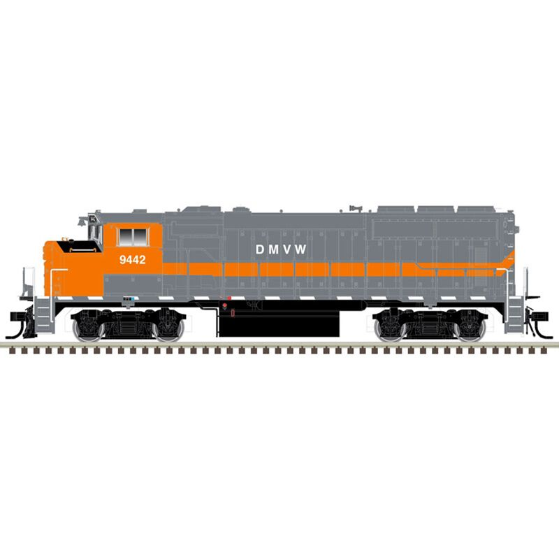 HO GP40-2W Dakota Missouri Valley & Eastern #9442