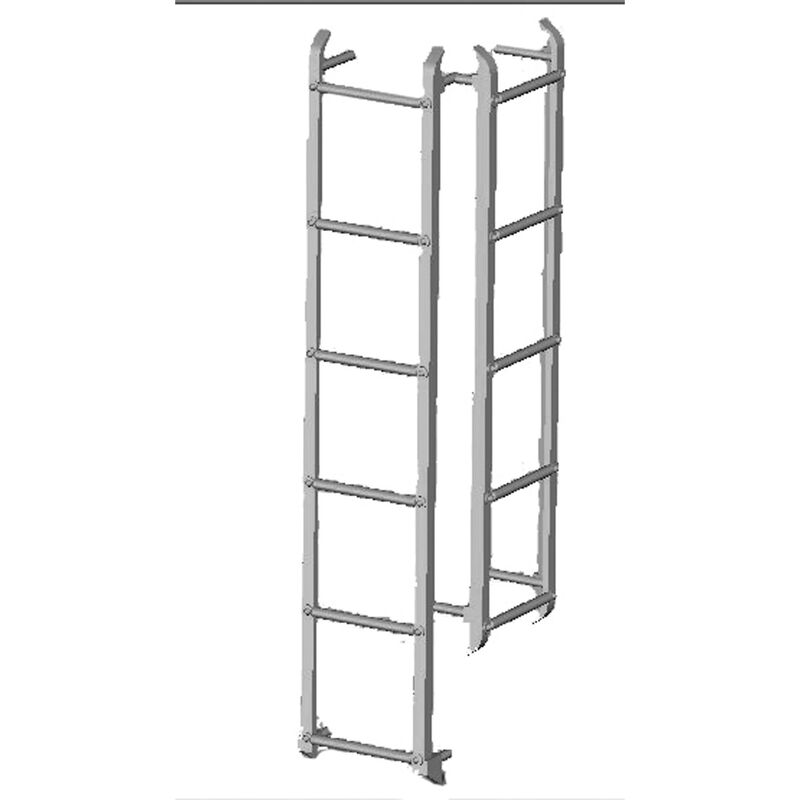 HO Wood Reefer Ladders (4)