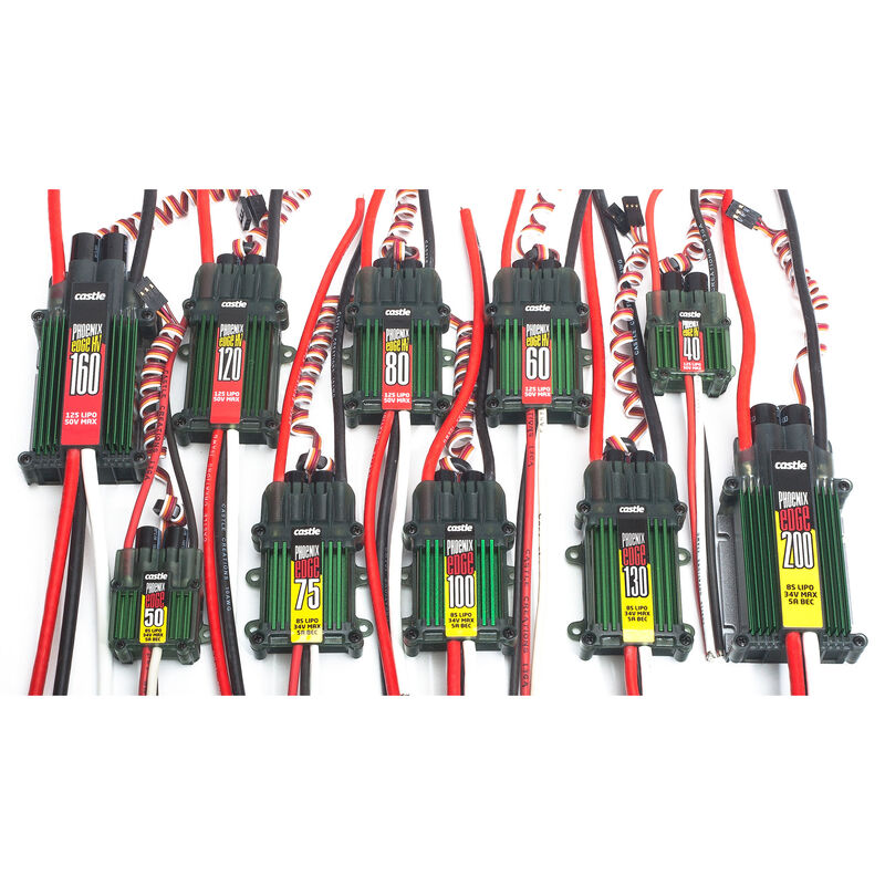 Phoenix Edge 100, 34V 100-Amp ESC w/ 5-Amp BEC