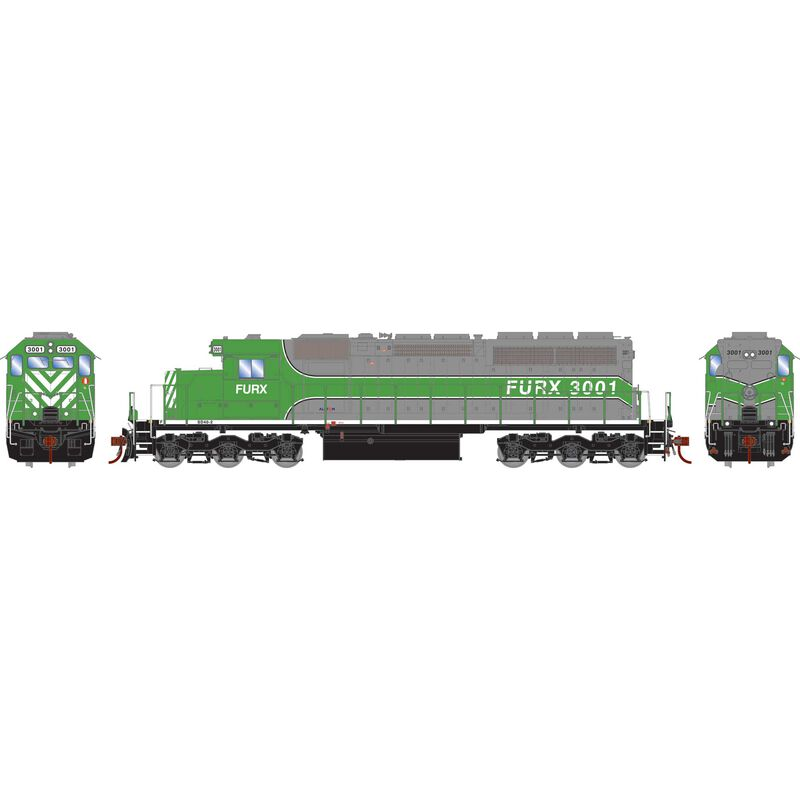 HO RTR SD40 (SD40-2) with DCC & Sound, FURX #3001