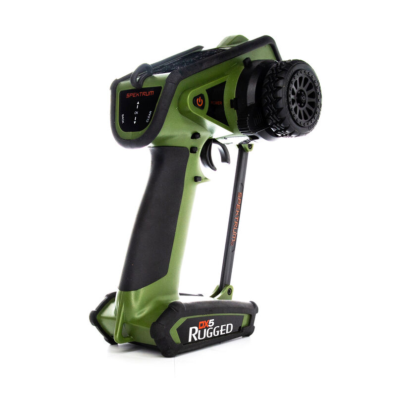 DX5 Rugged 5-Channel DSMR Transmitter Only, Green
