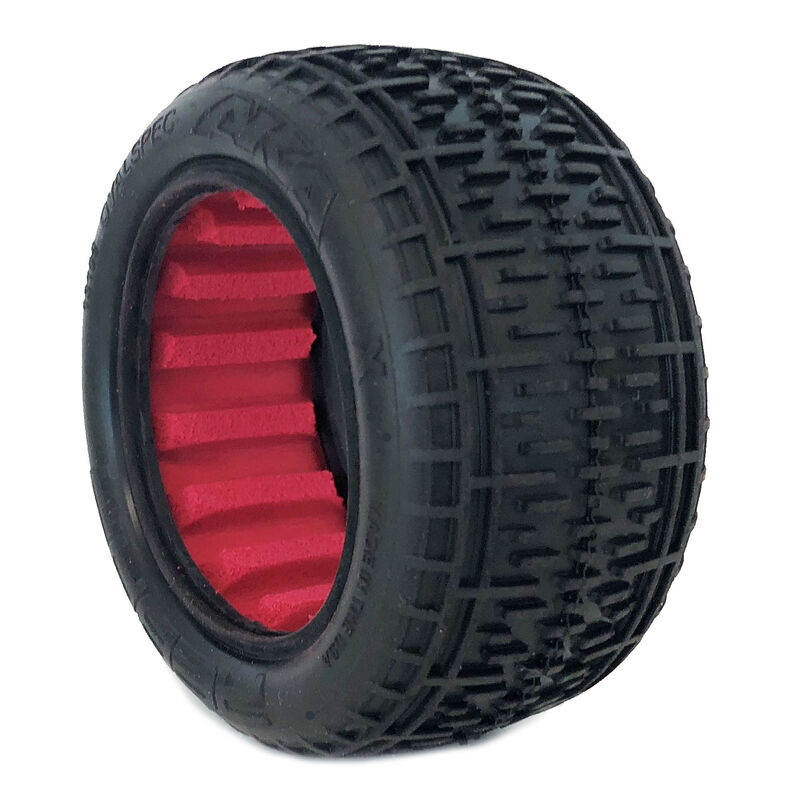 1/10 Buggy Rebar Rear (Super Soft) with  Red Inserts