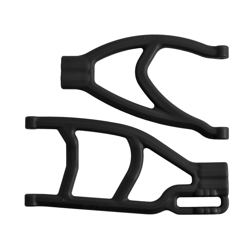 Extended Right Rear A-Arms, Black: TRA Summit, Revo