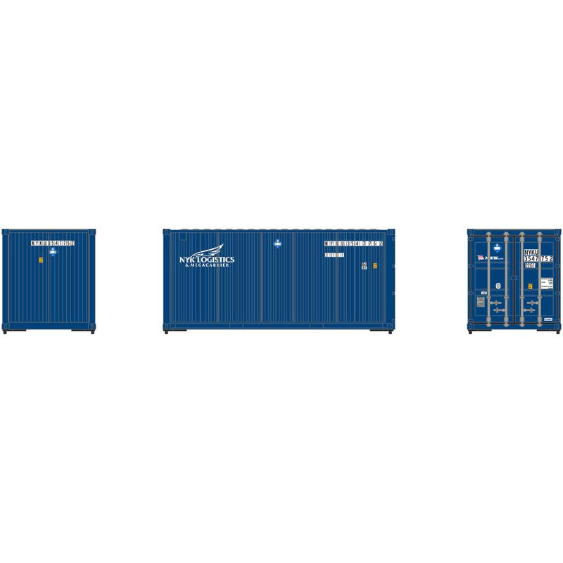 HO RTR 20' Corrugated Container NYK (3)