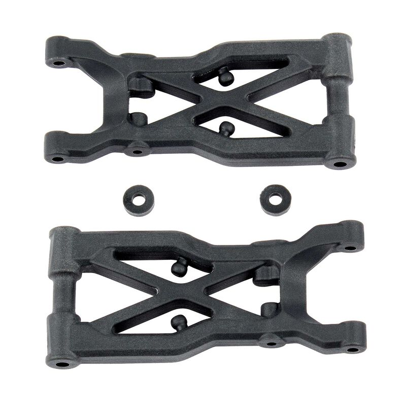 Rear Suspension Arms, Hard: RC10B74