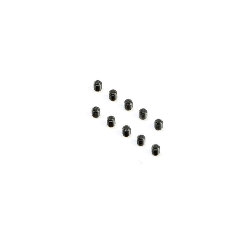 Cup Point Set Screws M2.5x3mm (10)