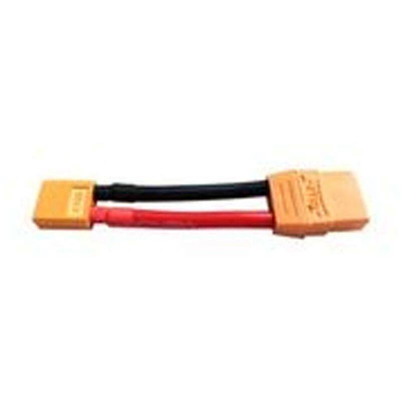 Adapter: XT60 Device / XT90 Battery, 10 AWG