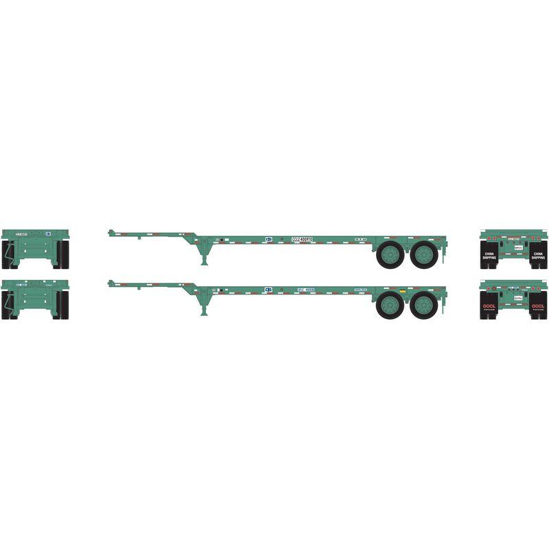 HO RTR 40' Chassis China Shipping (2)