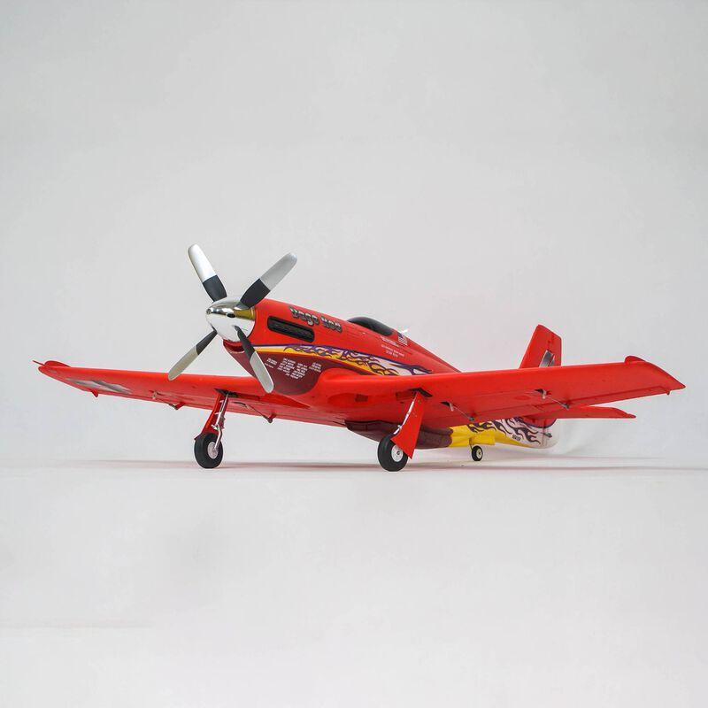 P-51D Mustang 1100mm PNP, Dago Red
