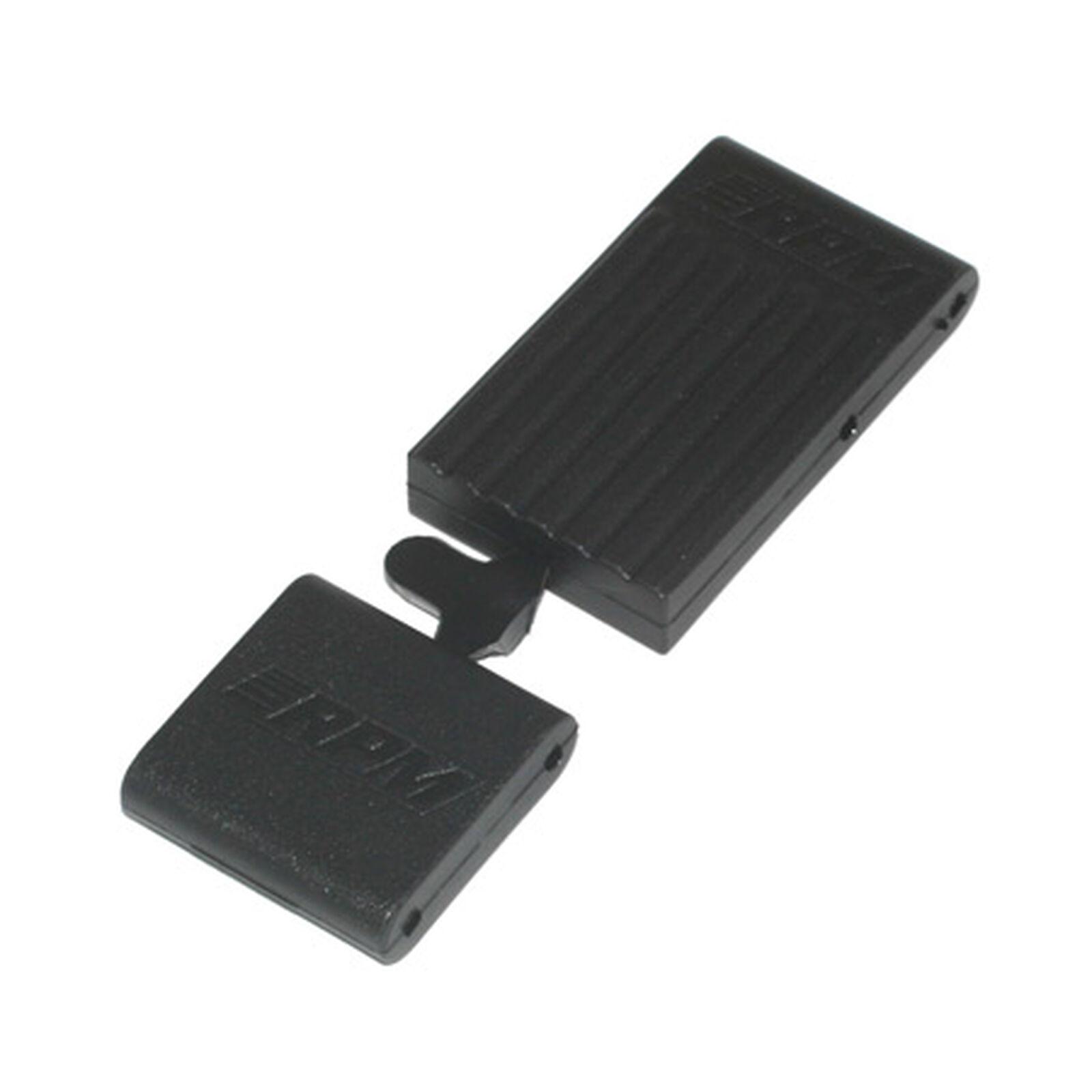 Front & Rear Bulkhead Brace, Black: TMX 3.3,EMX