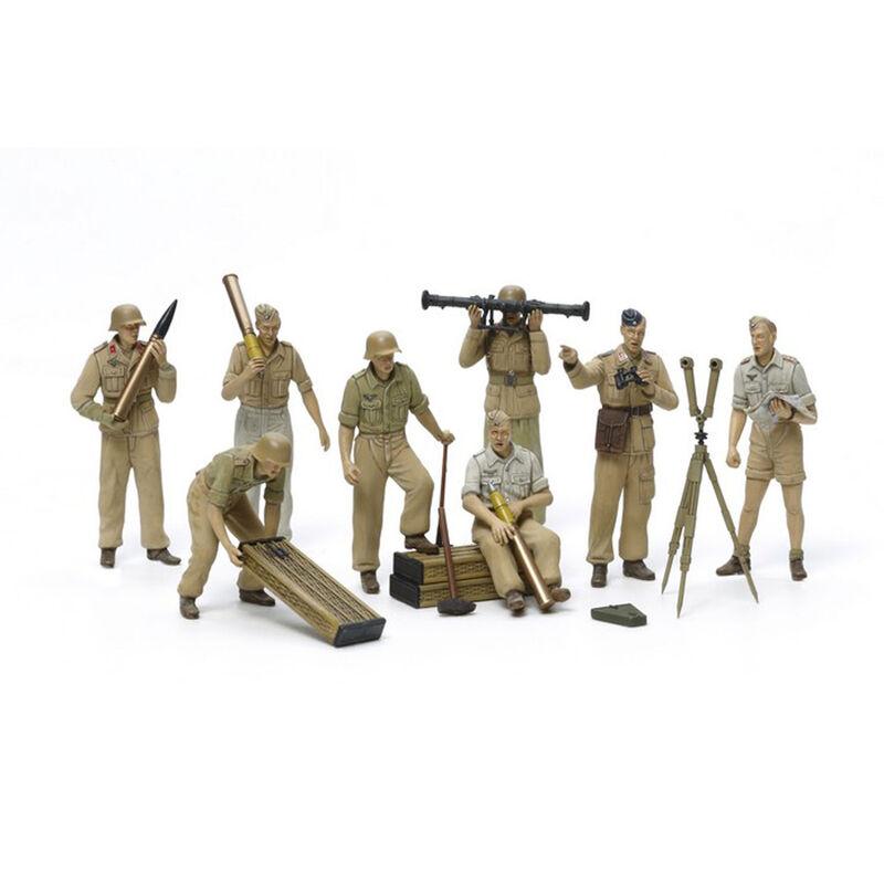 1/35 German Artillery Crew Afr Cor Luftwaffe
