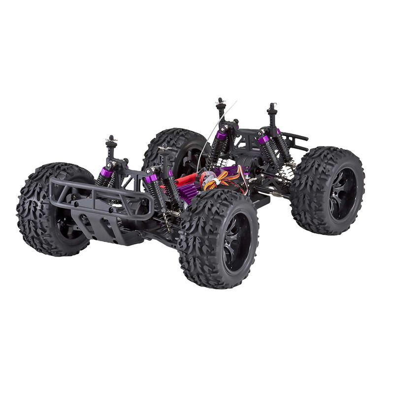 1/10 Volcano EPX 4WD Monster Truck Brushed RTR, Blue