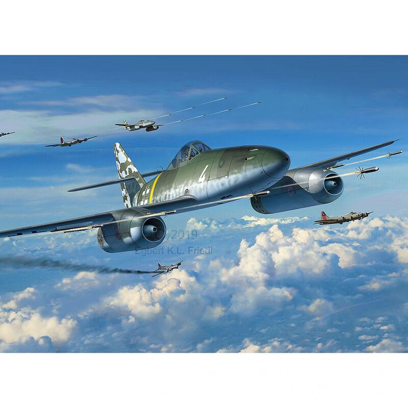 1/32 Messerschmitt Me262 A1 A2 Schw
