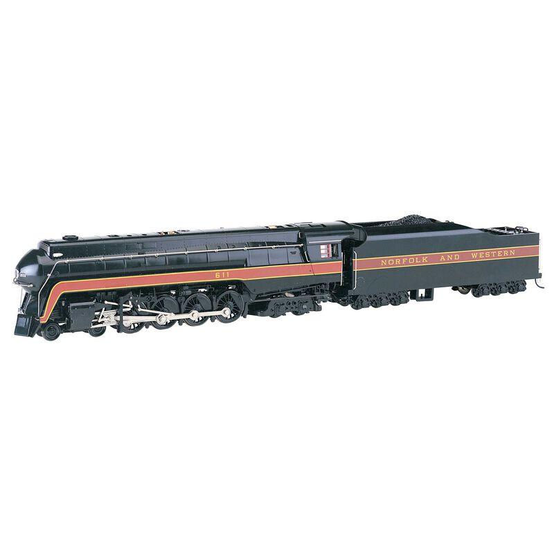 HO Class J 4-8-4 w DCC & Sound Value N&W Railfan