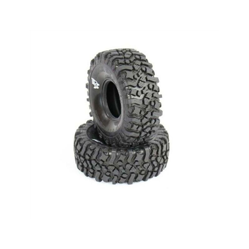 Rock Beast II Scale 2.2 Alien Kompound Tires (2), No Foam