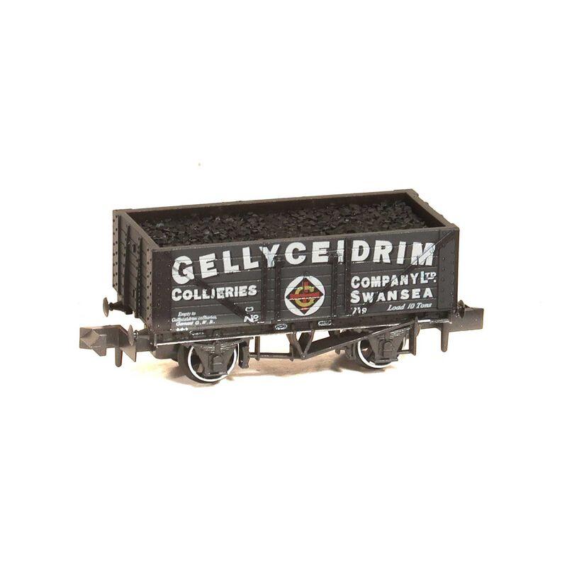 N 7 Plank Coal Wagon Gellyceidrim Colliery