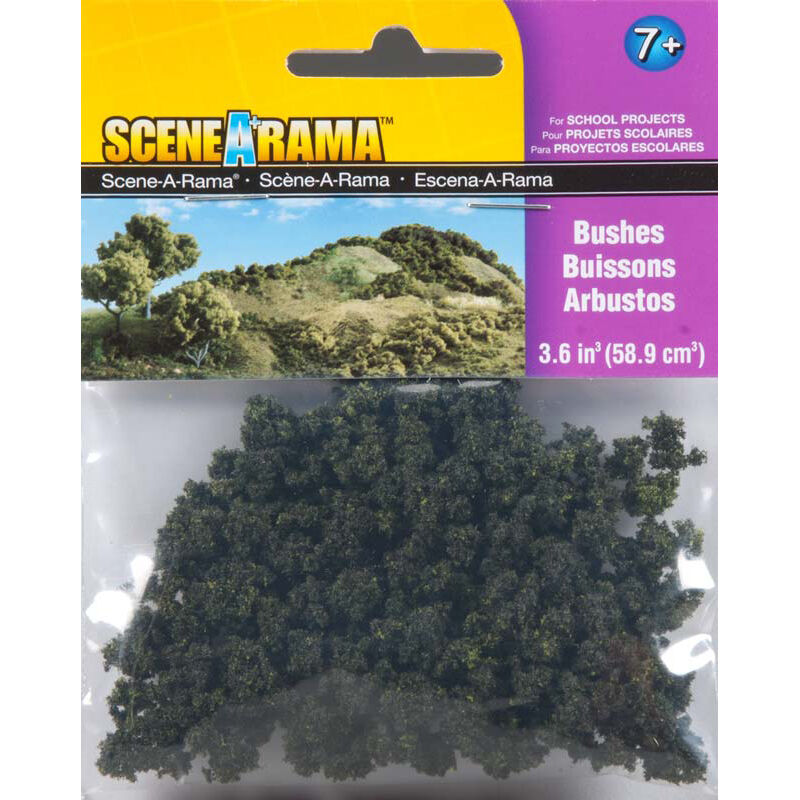 Scene-A-Rama Scenery Bags, Bushes 2oz