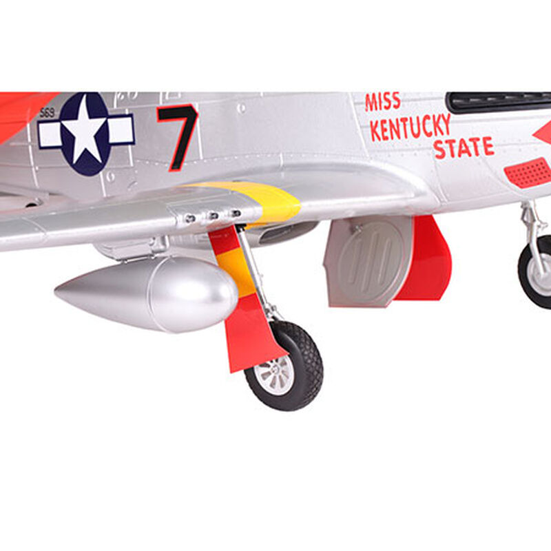 P-51D Red Tail PNP, 1700mm