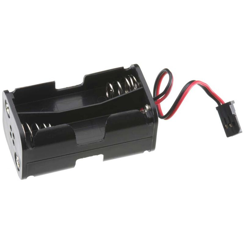 4 Cell AA Battery Holder with Futaba J Connector